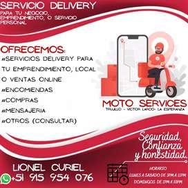 Servicio de Delivery, encomienda y mensajeria