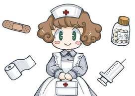 Busco trabajo como enfermera