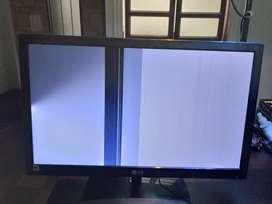 Vendo cambio monitor 22 pulgadas lg para reparar o repuestos