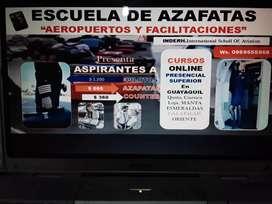 AEROPUERTOS Y FACILITACIONES CURSO AZAFATAS ONLINE PRESENCIAL