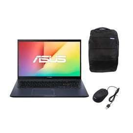 Portátil Asus M413DA Ryzen 7 RAM 8 GB 512 SSD Endless + Maleta + Mouse