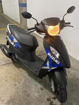 Vendo Susuki Let`s modelo 2021, sin SOAT, tecno hasta julio 2022. Unico dueño, en perfecto estado.