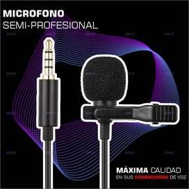 microfono semi-profesional para celulares universal