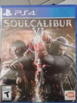 Juego PS4  nuevo Soul Calibur VI