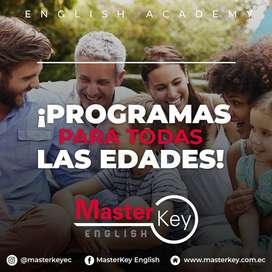 APRENDE Y SACA TU SUFICIENCIA DE INGLES CON NOSOTROS MASTER KEY ENGLISH