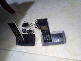 Se vende teléfono inalámbrico  o cepta cambio estás reparar o repuesto prenden pero no sé qué les molesta