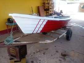 Vendo bote con traolers