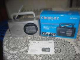 Radio Crosley Cs-2010 Am/fm/sw1/sw2 En Caja Impec No Envio