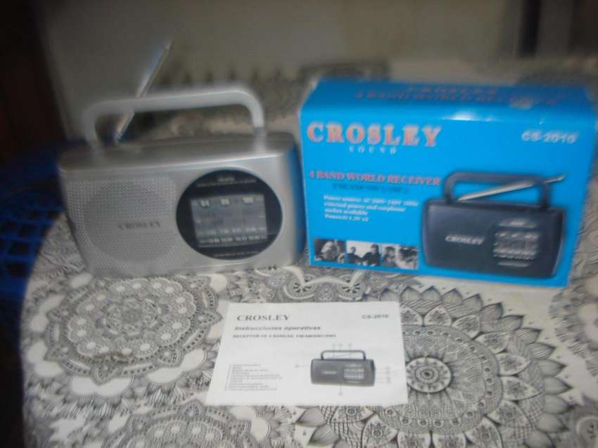 Radio Crosley Cs-2010 Am/fm/sw1/sw2 En Caja Impec No Envio 0