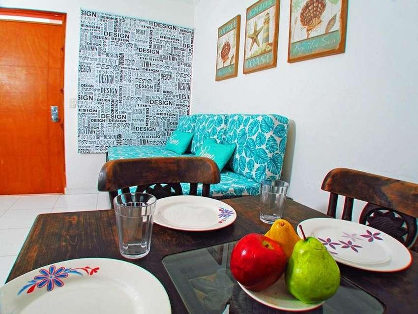 Alquiler Apartamento Por Dias Rodadero Santa Marta Salida Directa A La Playa 0