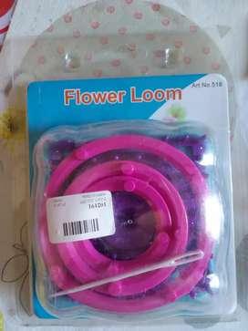 Molde de tejer flores