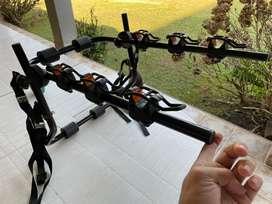 Portabicis universal con 6 soportes para 3 bicis