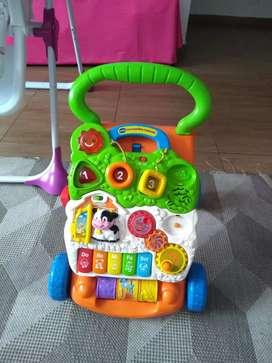 Caminador andador para bebe unisex musical