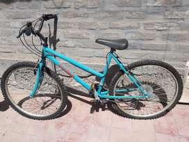 Bicicleta R 26 Dama marca Protech
