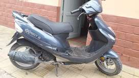 Motocicleta marca corven
