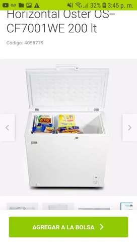 Oferta en congeladores  oster 200 litros.  Congelan y refrigeran. envio gratis