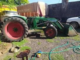 Vendo tractor Deutz  45 con pala