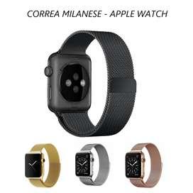 Correa Milanesse Loop Para Apple Watch 44 / 42 / 40 / 38mm - Magnetico