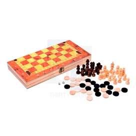 Juego 3 En 1 Ajedrez, Damas, Backgammon Magnético