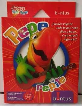 NUEVO Juego de Mesa Infantil Memoria Concentración Destreza Pepe Repite Bontus ASP