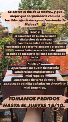 BOX ESPECIAL DIA DE LA MADRE