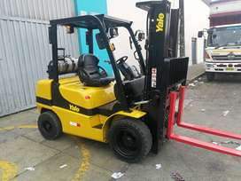 MONTACARGAS YALE/HYSTER SEMINUEVOS