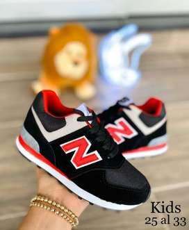 Zapato Tennis Deportivo New Balance Para Niños