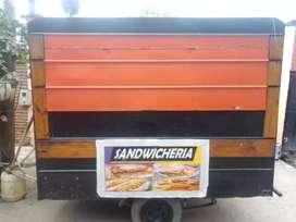 Vendo trailer d comidas