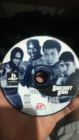 Juego Boxeo Playstation 1
