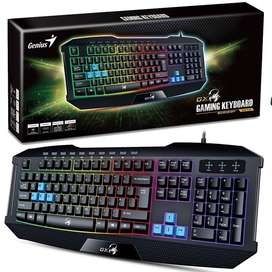 teclado para juegos computador pc genius gamer gx scorpion k215