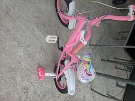 bicicleta para niñas Unicornio