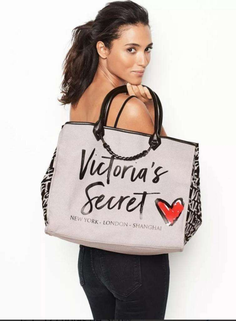 Bolso Cartera Plomo Victoria Secret 0