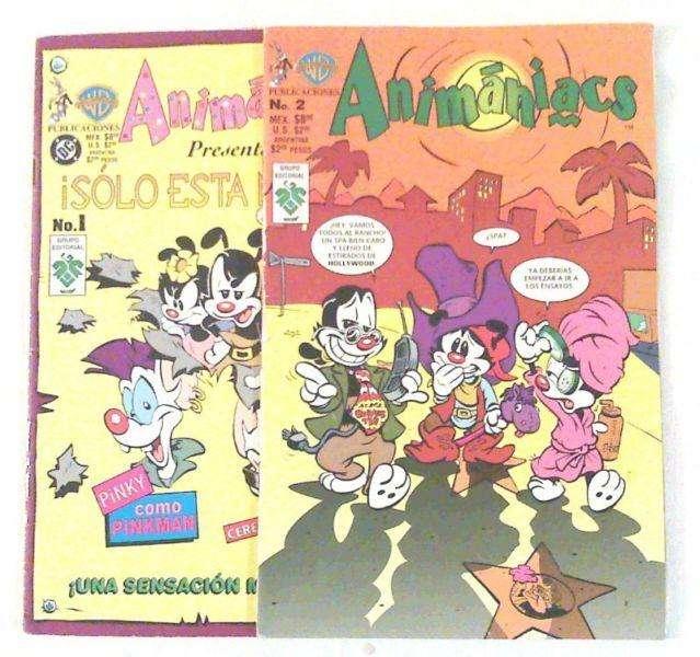 COMICS DE ANIMANIACS 0