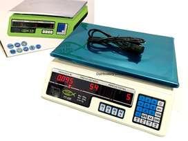 Bascula Gramera Digital Electronica Balanza Pesa Recargable 40kg Granero