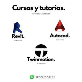 Clases De Revit, Autocad Y Twinmotion Para Arquitectura