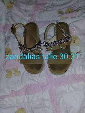 Zandalias talle 30.31