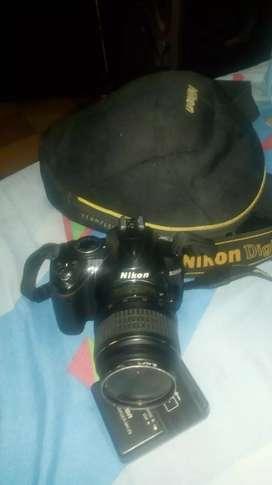 Camara fotográfica Nikon D3000 en buen estado