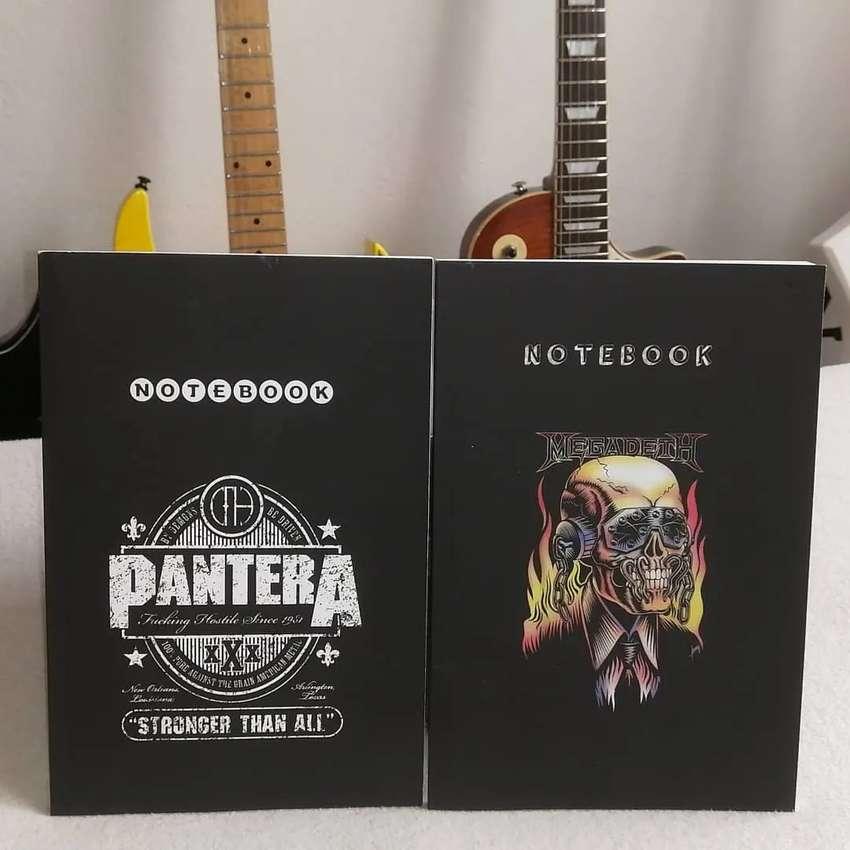Notebook Megadeth - Pantera