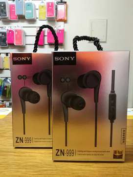 auricular Sony Manos libres in ear HI-RES AUDIO ZN-999 (Gama Baj