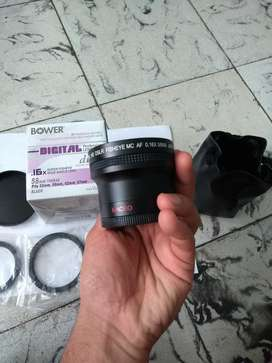 Lente Super Fisheye Bower .16 58mm con M