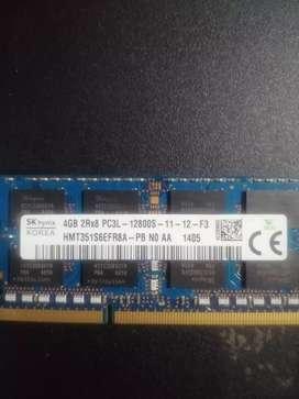 Vendo disco duro portátil 1 Tera y memoria ddr3 4 gb