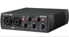 Interfaz De Audio Presonus Audiobox Usb 96 2x2 Canales