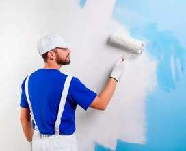 Pintor de interiores y exteriores