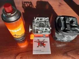 Cocina anafe con magiclik para camping  + 1 tubo de gas