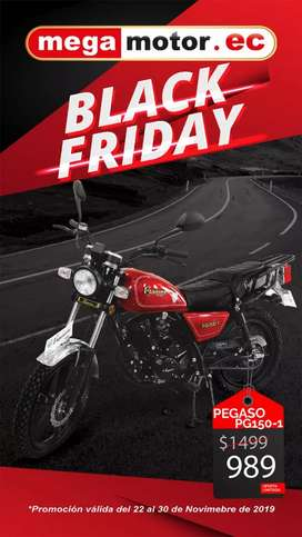 Moto Pegasso GN 2019 0kms black friday