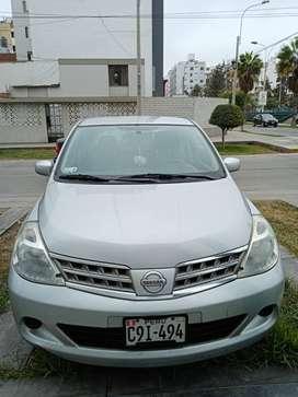 Nissan tiida,2009,uso particular,mpecable, poco km, economico