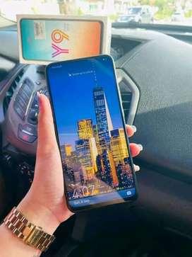 Vendo teléfono Huawei y9prime 2019 cero detalles con caja cargador original vidrio templado forro todo