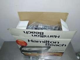 Sanduchera panini Hamilton beach nueva reparada