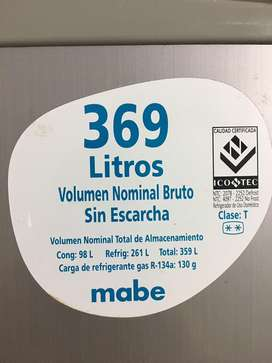 Bevera mabe 369 litros