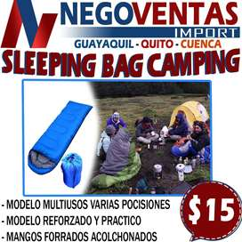 SLEEPNG BAG EXCLUSIVAMENTE EN DESCUENTO SOLO EN NEGOVENTAS